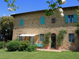 Panorama Country View Apartment in San Gimignano