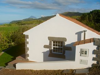 Rural location with views to the sea and Pico