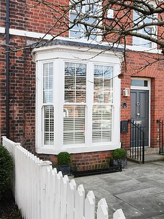 Cherry Tree House, English shutters and sliding sash windows