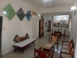 Mel Ville Serviced Apartment - 3 BHK Ivory GF, Pondicherry