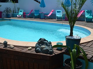 Chambre chez l'habitant+piscine proche Saint Pierre 'Tec Tec'