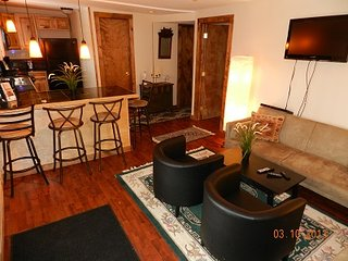 2 - Bedroom Condo in Downtown Lake Placid - Blue Frost #5