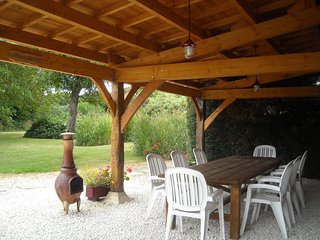inside Farmhouse eating area