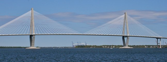 Charleston is known for its bridges