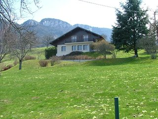 Villa overlooking Lake Annecy