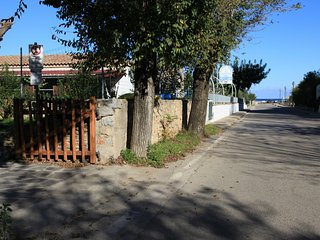 Villetta sul mare con giardino