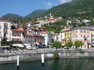 Lake Como, Frenk apartment, spectacular view on the lake, Argegno