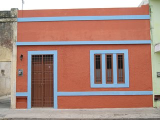 Beautiful colonial house in downtown Merida