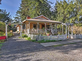 NEW! 1BR Occidental Cottage Surrounded by Nature!