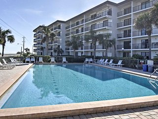 NEW! 2BR Oceanfront Ormond Beach Condo w/ Pool!