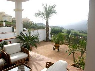 Villa with exceptional views.  3 bed.wifi, solar heated pool, aircon. 7 nights