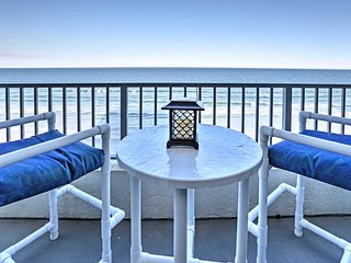 NEW! Beachfront New Smyrna Beach 2BR Condo w/Pool!