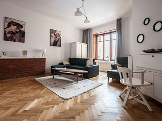 XIXth century apartment in the heart of the city, Warschau