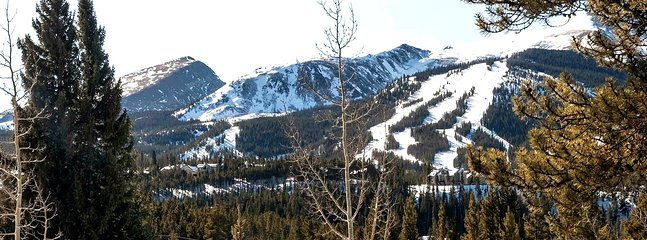 Views of Ten Mile Range and Ski Resort from Home