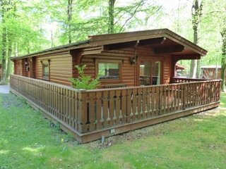Larch Lodge, Louth, kenwick Woods, Lincs, shared members only pool at kenwick