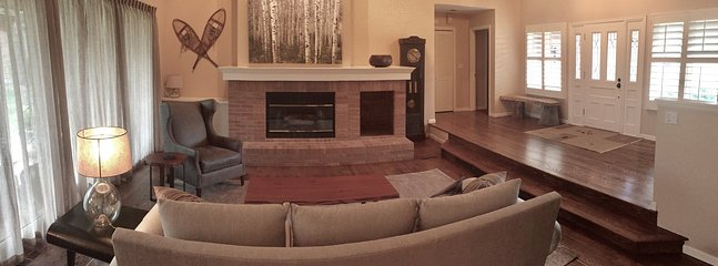 Cozy living room with comfortable furnishings