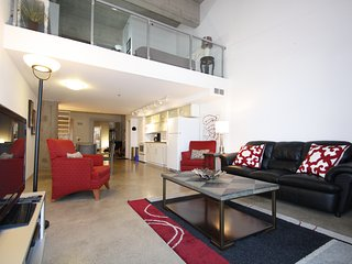 Gorgeous Loft Style Condo Heated Parking, Downtown, Saskatoon