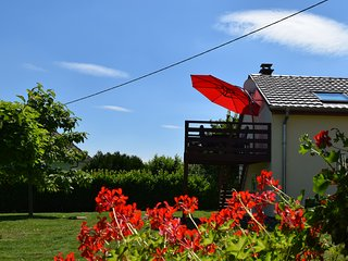 Petite maison près d'EGUISHEIM avec terrasse & belle vue