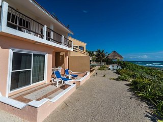 Ocean side Casa del Mar and our sister villa Nicte Ha