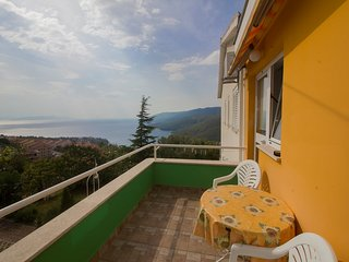 Peaceful 2 persons app with sea view,AC,WiFi 62