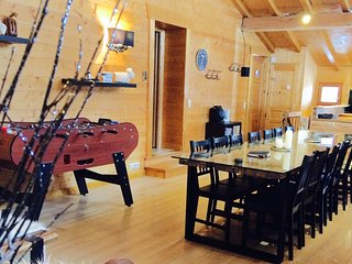 Chalet 4c : week end, semaine, nuitée, jacuzzi, babyfoot..., Les Houches