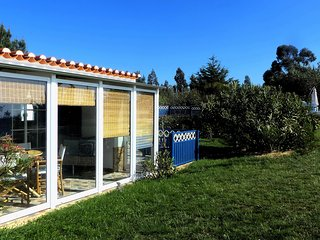 CANTO DO SOL - Sunny Corner House in Plain Nature with Pool and Sunset View