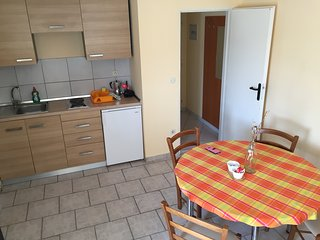 Apartment G5 with 2 bedrooms / Closest house to Zrće beach /2 bedrooms /equipped