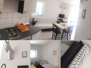 ➼ Apartment #6 Cozy, equipped flat for up to 4 ppl / 2 bedrooms / close to beach