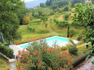 NEW for 2017!Campo, 4 bedrooms, 2 bathrooms  private pool, WIFI , mountain views, Gallicano