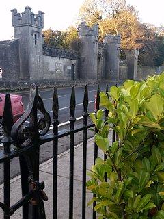 Historic main entrance to Birr Castle
