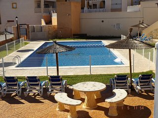 2 Bedroom Apartment Great Location FREE WiFi, Dehesa de Campoamor