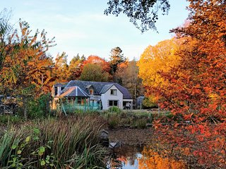 Comfortable Highland Lodge in the National Park, Newtonmore