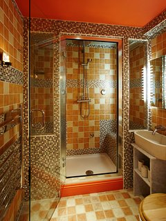 Shower and steam room