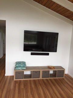 70' flat screen tv