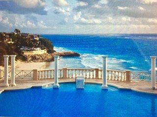 Luxury one bedroom ocean view suite overlooking the award winning Crane Beach