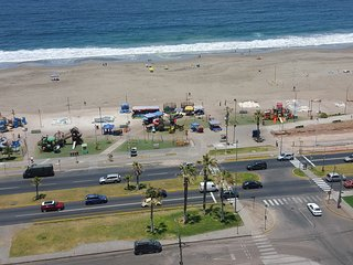 Departamento Full Equipado vista al mar a pasos del mall