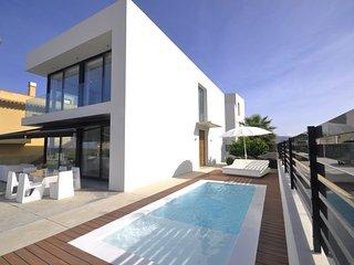 Villa Aqua 4402 Son Serra de Marina con vistas al mar