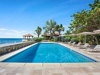 BLUE BEACH VILLA... Save 15% on this 4 BR villa on gorgeous white sandy beach!