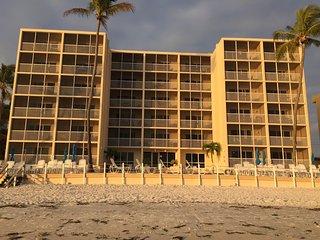 Beach Front FMB Condo Rental
