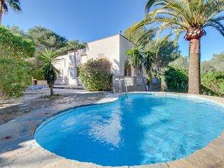 Villa Sardenya, Villa con Piscina y Paisaje Precioso