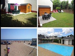 Maison avec piscine, bord de mer au Pouldu