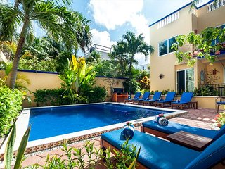 Private balcony overlooking the pool, peaceful apartment with great amenities