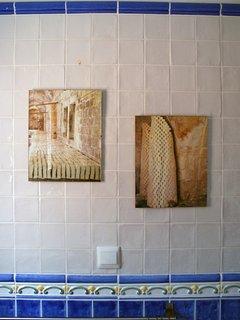 Decoration of common bathroom