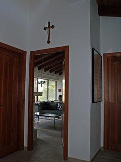 Hallway into living area