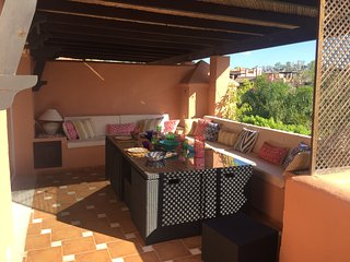 Penthouse with private swimming pool in Guadalmina Baja, Marbella (Malaga)