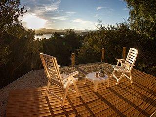 Punta Negra, cabanas con increible vista al lago en Villa Pehuenia