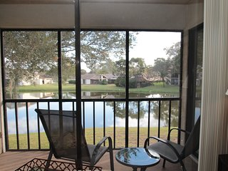 Newly Renovated Lakefront Condo, Oldsmar