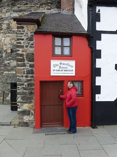 The Smallest House. Conwy.