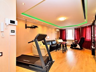 High-tech 3BR 1100 sq.ft 20 min by the trin to the Moscow heart, Odintsovo
