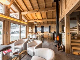 Grand Chalet Neuf de Standing Vallée de Chamonix, Les Houches